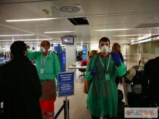Coronavirus, i controlli a Milano Linate (08.02.2020) - ©Foto Anna Bruno