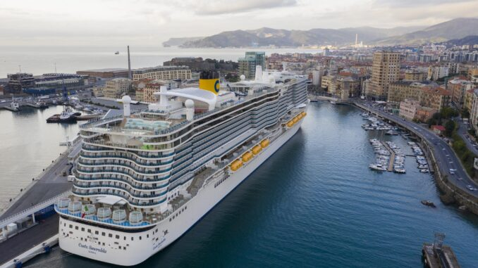 Costa Crociera nel porto
