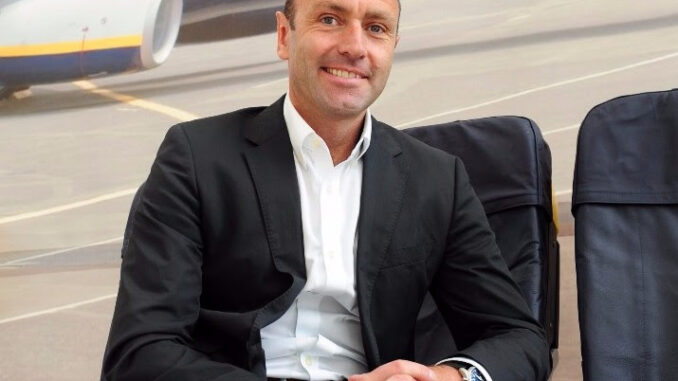 Kenny Jacobs, Chief Marketing Officer di Ryanair