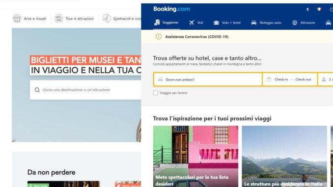 Musement (TUI) e Booking.com, partnership