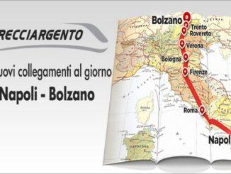 La Napoli - Bolzano di Trenitalia