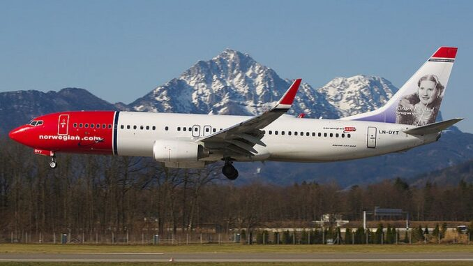Aereo Norwegian Air - ph Biggerben - licenza Creative Commons Attribution-Share Alike 3.0 Unported