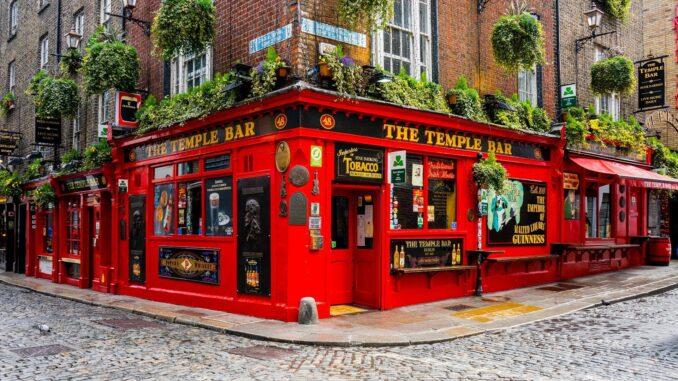 The Temple Bar, Irlanda - Foto di Leonhard Niederwimmer