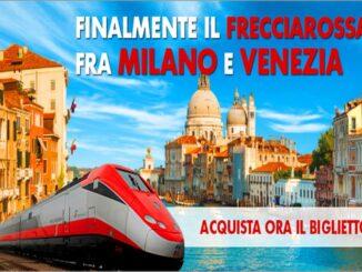 Trenitalia: Frecciarossa sulla Milano - Venezia