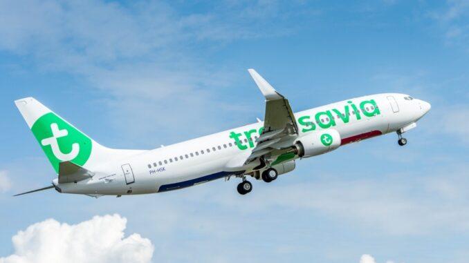 Transavia in volo