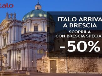 Italo treno arriva a Brescia