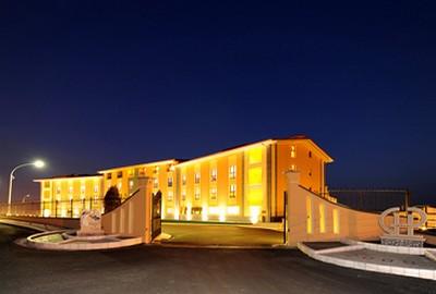 Grand Hotel Paradiso a Catanzaro Lido, visuale esterna