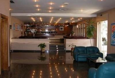 Hotel San Francesco a Cosenza, l'ingresso