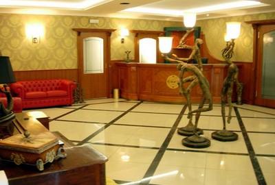 Regent Hotel a Reggio Calabria, la hall