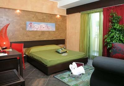 Hotel Pompei Resort, una delle camere