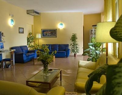 Hotel Napolit'amo, la hall
