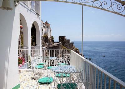 Hotel Marina Riviera di Amalfi, veduta dalla terrazza