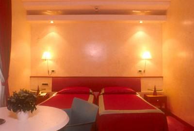 Hotel Columbia a Trieste, una stanza di categoria standard