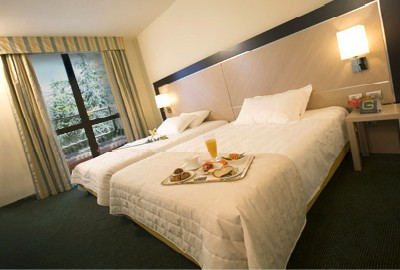 Hotel Griso a Malgrate, una delle camere