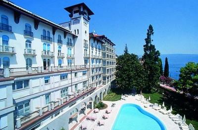Hotel Savoy Palace a Gardone Riviera, la struttura