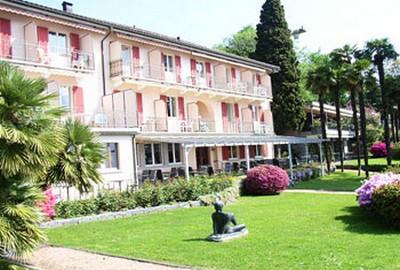 Hotel Collinetta a Ascona, parte del giardino