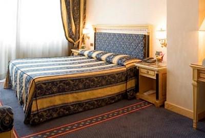 Hotel Excelsior S. Marco a Bergamo, una delle camere deluxe