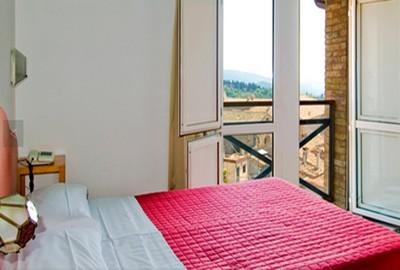 Hotel Raffaello a Urbino, una delle camere