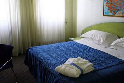 NH Ancona, una delle camere dell'hotel
