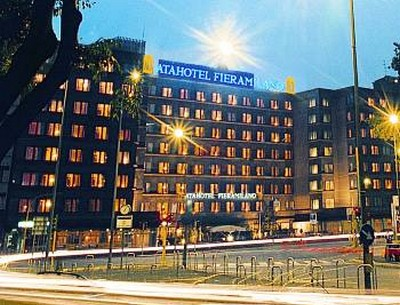 Atahotel Fiera Milano, la facciata