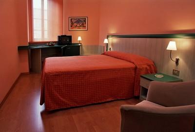 Hotel Europa di Alessandria, una delle comode camere