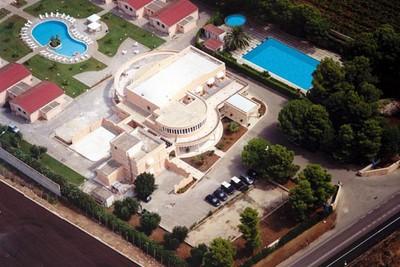 Hotel Minerva di Brindisi, veduta aerea