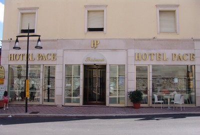 Hotel Pace a San Giovanni Rotondo, l'ingresso