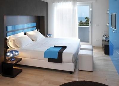 Hotel Dory di Riccione, una della camere
