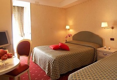 Hotel Select di Riccione, una delle camere