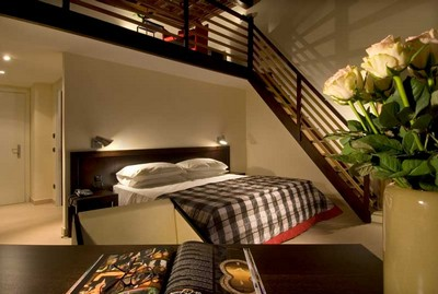 Hotel De Petris di Roma, una delle suite