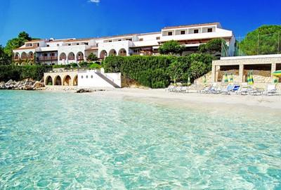 Hotel Punta Negra di Alghero, visuale dal mare