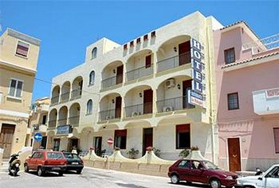 Hotel Le Pelagie a Lampedusa, visuale esterna