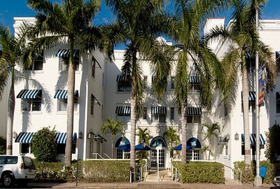Blue Moon Hotel a Miami, l'ingresso