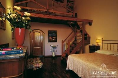 Albergo Casalta di Monteriggioni, una suite
