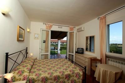 Fattoria Maremmana a Grosseto, una delle stanze vista giardino