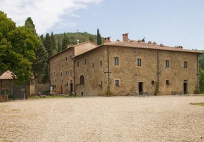 Hotel Badia di Pomaio di Arezzo, la struttura