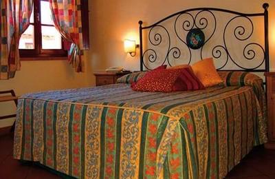 Hotel Casolare Le Terre Rosse a San Gimignano, una camera