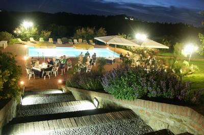 Hotel Le Boscarecce, la piscina esterna