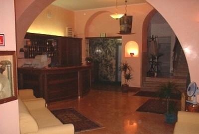Hotel Cappello e Cadore a Belluno, l'ingresso