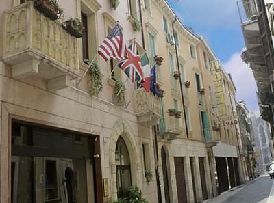 Hotel Giulietta e Romeo a Verona, l'ingresso