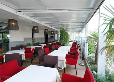 Hotel Santiago a Jesolo, giardino d'inverno
