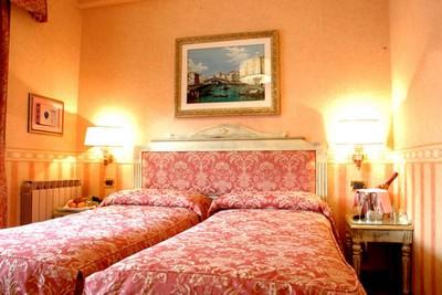 Hotel Venezia a Mestre, una delle stanze