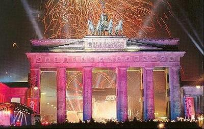 Capodanno alla Porta di Brandeburgo ©Foto Il Settimo Senso