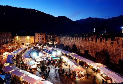 Il mercatino di Natale di Trento ©Foto R. Magrone