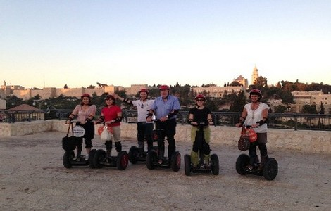 Tour di Gerusalemme in segway
