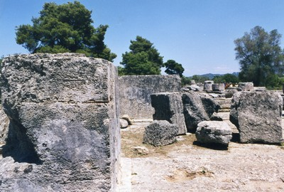 L'antica Olimpia, sede delle prime olimpiadi ©Foto Anna Bruno