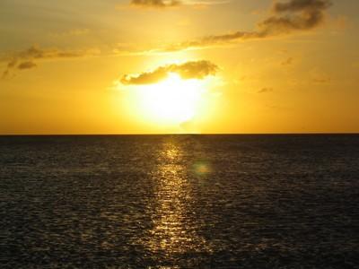 Mar dei Caraibi, tramonto ad Aruba