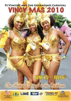 Carnevale di St Vincent, Vincy Mas 2010