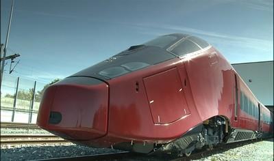 Il treno Italo arriva a Salerno