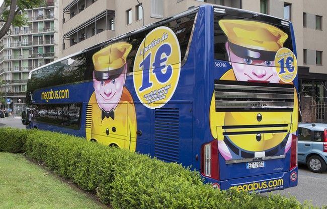 Megabus, autobus low cost in Italia